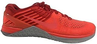 Nike Mens Metcon DSX Flyknit Training Shoe (12 D(M) US, Total Crimson/Hyper Orange)