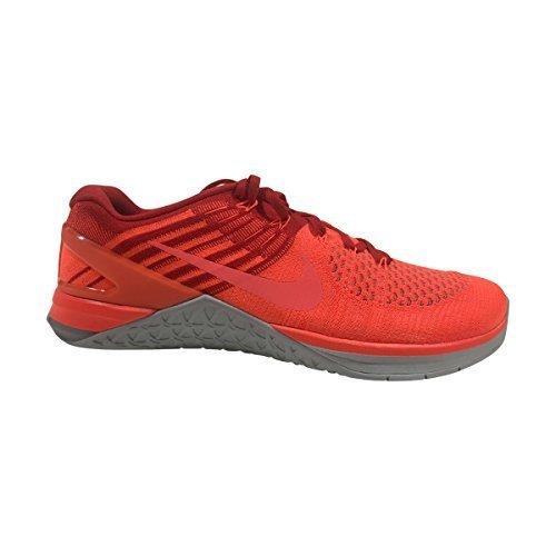 Nike Hombre Metcon Dsx Flyknit Total Carmesí Zapatillas 852930 800