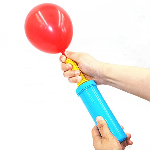 Hand Pump, Double Action Air Pumps for Balloons, Exercise Balls, Yoga Balls, Pool Floats