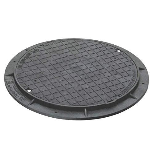 STABIFLEX Abdeckung BASIC-600kg-Typ2 (ohne Griffmulden), Kanaldeckel, Schachtabdeckung, Zisternendeckel, Kunststoff leicht, Abdeckung Zisterne