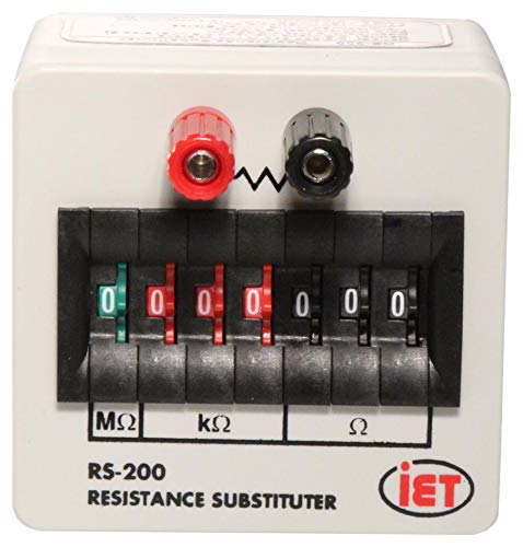 RS-200 CAL - Decade Box, Calibrated, Resistance, 7, 0 ohm to 9.999999Mohm, 1%, RS Series (RS-200 CAL)