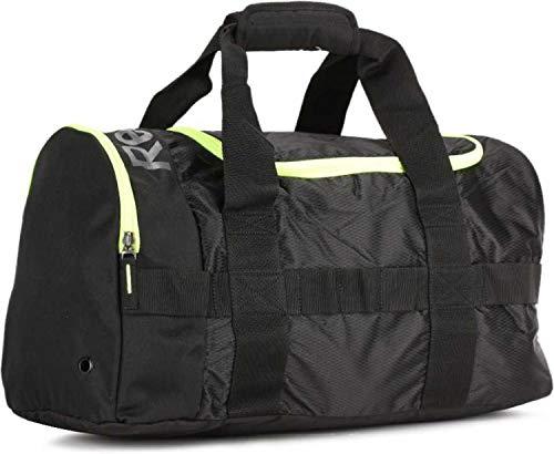 Reebok Polyester 25 cms Black Gym Bag (B21722)