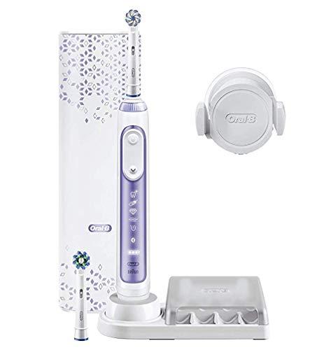 Oral-B Genius 10000N Orchid Purple Elektrische Zahnbürste Violett