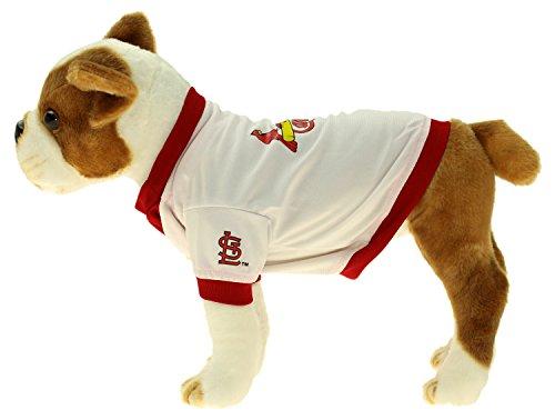 Sporty K9 MLB White Baseball Jersey, St.Louis Cardinals X-Small