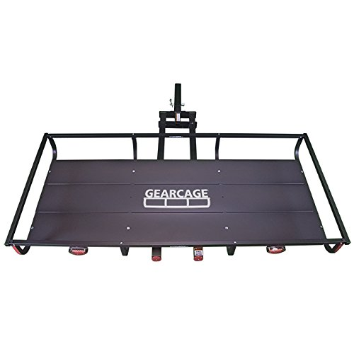 Let's Go Aero GearCage FP6 Slideout Hitch Rack with LED 72in x 32in x 7in
