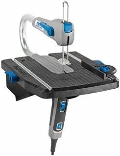 Dremel Moto-Saw MS20 - Sierra de calar estacionaria, 70 W, sierra de calar eléctrica con 1 complemento y 5 accesorios