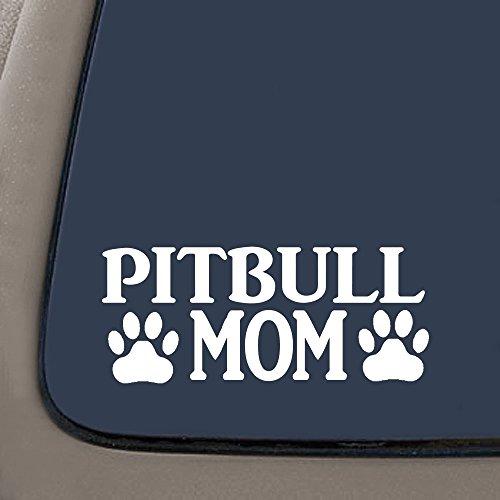 CMI NI269 Pitbull Mom Decal | Premium Quality Vinyl Decal | Pit Bull Mom Decal | American Bully | 7.4 X 3.1