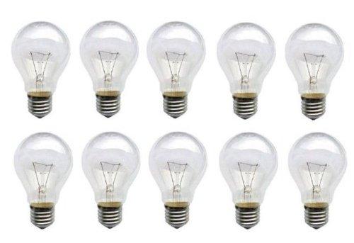 10X Lampadina 60W E27lampada lampadine e 27trasparente prodotto di qualità