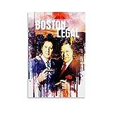 Withtap Boston Legal Art TV Show Poster Leinwand Kunst
