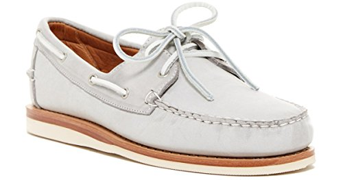 Allen Edmonds Men's South Shore Boat Shoe (7 D (M) US, Grey)