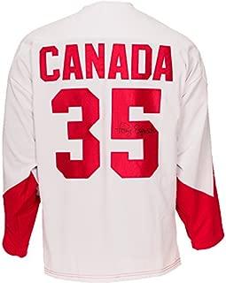 Tony Esposito Signed Team Canada 1972 Jersey