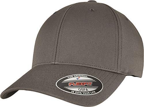 Flexfit Unisex-Adult Alpha Shape Baseball Cap, Darkgrey, L/XL