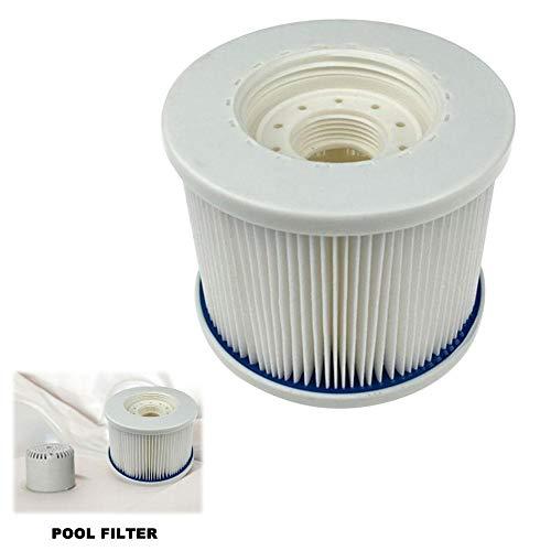 Bettying Aufblasbarer Filterpool Aufblasbarer Spa-Pool Filterzubehör Poolreinigungswerkzeug