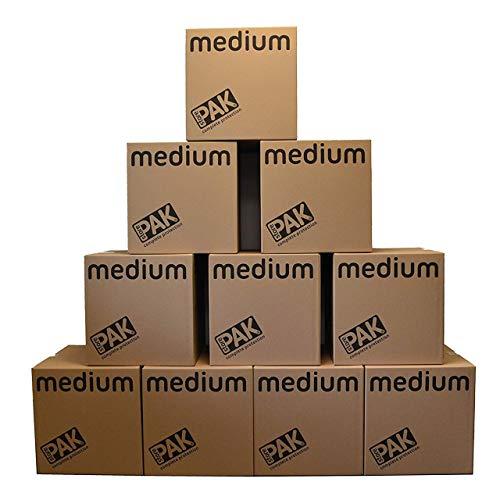 StorePAK R10822 Kartong, Brun, M, Paket med 10