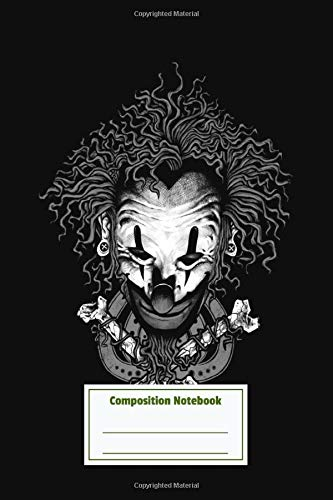 Composition Notebook: Clown Mystery Pretty Personalized Diary for Writing & Note Taking