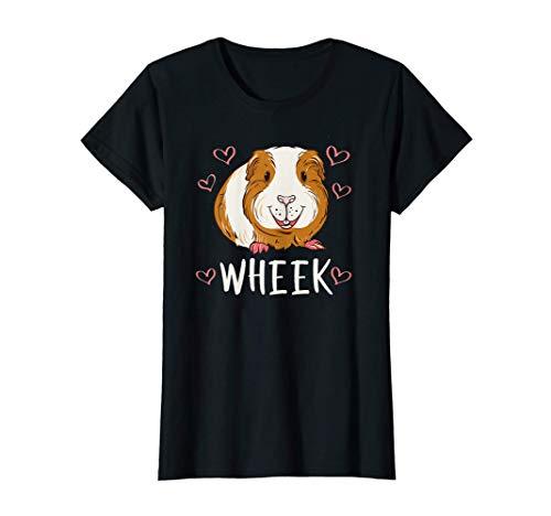 Wheek | Süße Haustier Geschenk Idee | Meerschweinchen T-Shirt
