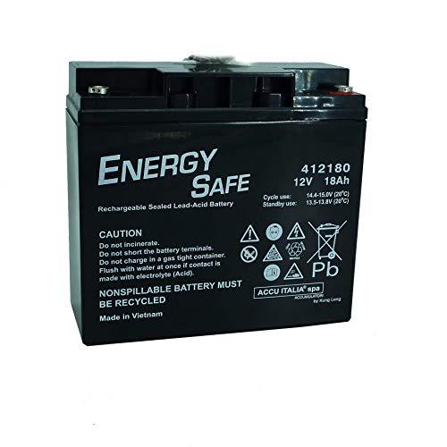 Batteria al piombo ENERGY SAFE 12V 18Ah