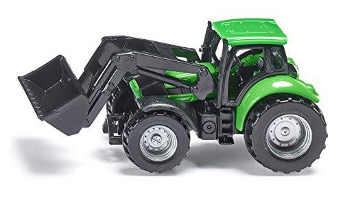 Siku - 1043 - Véhicule sans piles - Tracteur Deutz avec chargeur frontal - 1,64 ème
