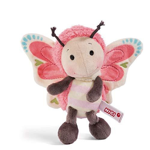 NICI Kuscheltier Schmetterling 25 cm – Schmetterling Plüschtier für Mädchen, Jungen & Babys – Flauschiger Stofftier Schmetterling zum Kuscheln, Spielen & Schlafen – Schmusetier – ab 0 Monaten – 44933