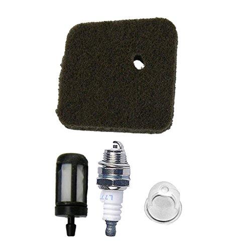 2800 124 Mtsooning Air Filtre /à Carburant Bougie dallumage pour Stihl FS38/FS45/FS46/Fs46/C Hs45/Fc55/Remplacement 4140
