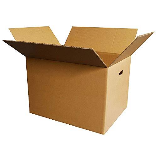 ボックスバンク【法人 学校 個人事業主 限定販売】 ダンボール 引っ越し 段ボール箱 120サイズ(取っ手穴付)60枚セット FD05-0060-b 強化材質