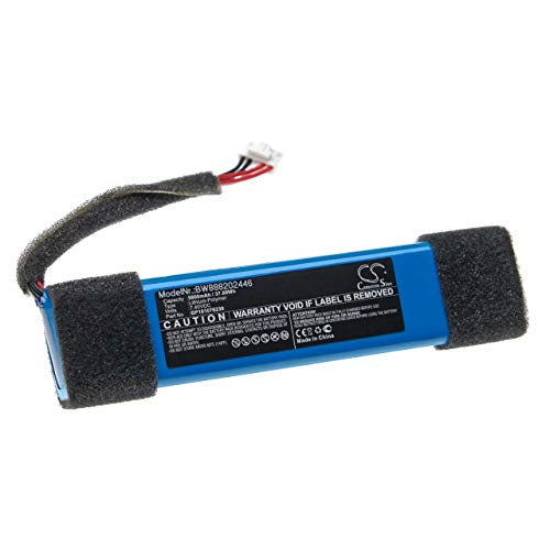 vhbw Batería Recargable reemplaza JBL GP181076239 para Altavoces, Cajas acústicas, bafles (5000 mAh, 7,4 V, polímero de Litio)