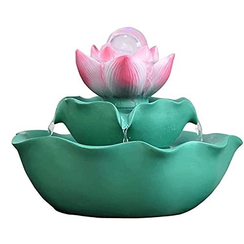 JXRY Feng Shui adornos de la mesa de la mesa de la mesa de la resina de la resina de la resina de la resina de la transferencia de la bola de la bola de la transferencia del agua del estanque del esta