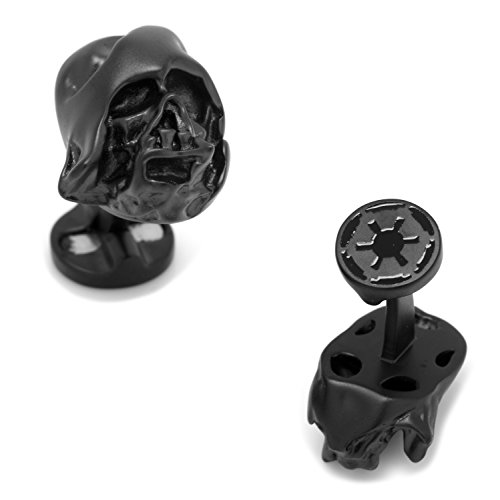 Cufflinks Inc Star Wars 3D Derrita Darth Vader Casco Gemelos, Producto Oficial.