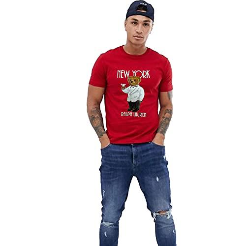 Polo Ralph Lauren Camiseta para Hombre Polo Bear New York (XL, RL...