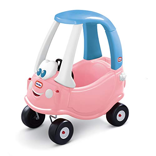 Little Tikes 614798E5 Cozy Coupe Pink Lady - Macchinina cavalcabile