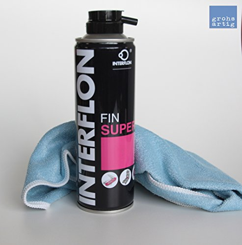 grohsartig | Interflon Teflon Trockenschmierspay Fin Super 300 ml inkl. Reinigungstuch