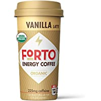 12-Pack Forto Energy Coffee Vanilla Latte, 11 fl oz