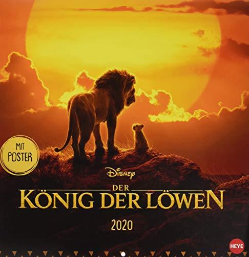 Der König Der Löwen Broschur Kalender 2020