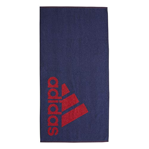 adidas Unisex-Adult Handtuch S, Tech Indigo/Collegiate Red, NS