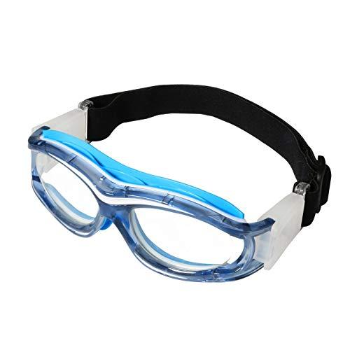 Gafas protectoras para niños, ideales para jugar al baloncesto, golf, rugby, fútbol, resistentes a impactos, lentes intercambiables, con correa ajustable