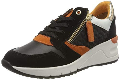 Tamaris Damen 1-1-23702-24 Sneaker, Schwarz (Black Comb 98), 38 EU