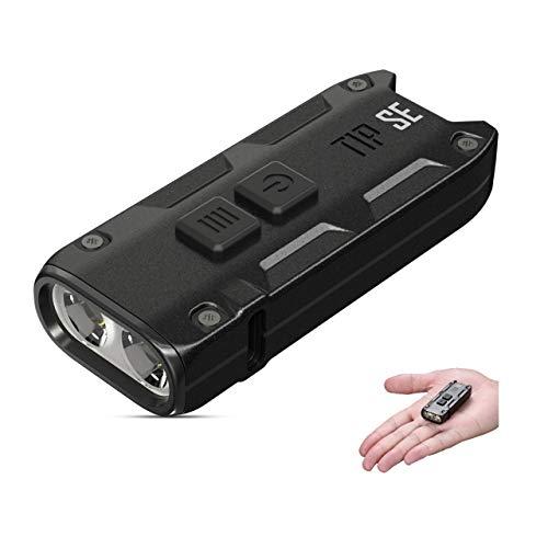 NITECORE TIP SE Mini Linterna Llavero Recargable USB-C 700 Lumenes LED 4...