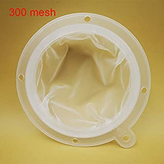Wine Filter Mesh Food Filter Juice Jam Coffee Sediment Strainer for 5 inch Kitchen Funnel (filter 300mesh)