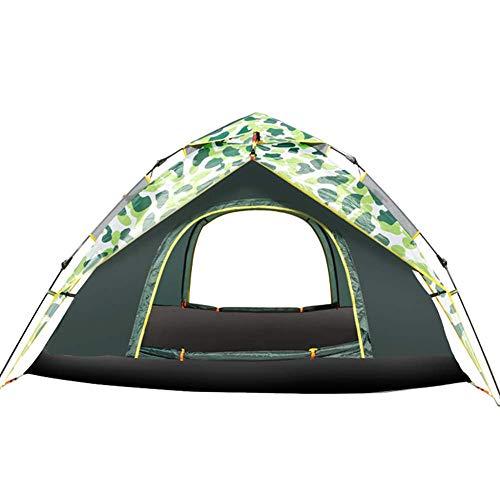 YXDEW Doble Capa hidráulica Carpa, Carpa Impermeable Ultra Large Family Camping Tiendas de campaña con Bolsa de Transporte Acampar