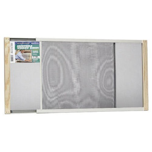 Frost King WB Marvin AWS1545 Adjustable Window Screen, 15in High x Fits 25-45in Wide