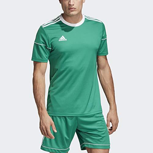 adidas Squad 17 JSY SS Camisetapara Hombre, Verde (Bold Green/White), L
