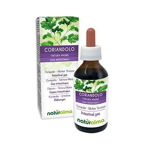 Coriandolo (Coriandrum sativum) frutti Tintura Madre analcoolica NATURALMA | Estratto liquido gocce 100 ml | Integratore alimentare | Vegano