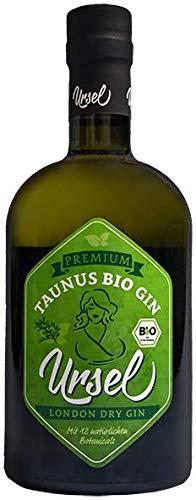 """Premium Taunus London Dry Gin\""""Ursel\"""" Bio Gin - ein harmonischer Gin mit frischen Löwenzahn und Wald- und Wacholdernoten"""
