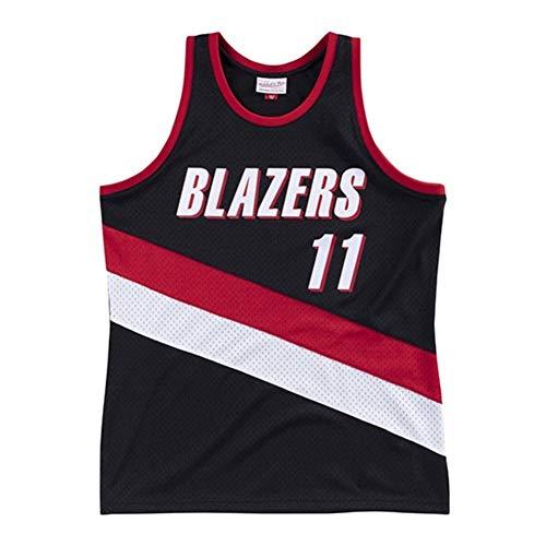 Arvydas Sabonis # 11, Camiseta De Baloncesto NBA para Hombre, Retro Jersey Swingman Basketball Camisetas, Chaleco De Gimnasia Top Deportivo Ropa, S-XXL, Z151MK (Size : XXL)