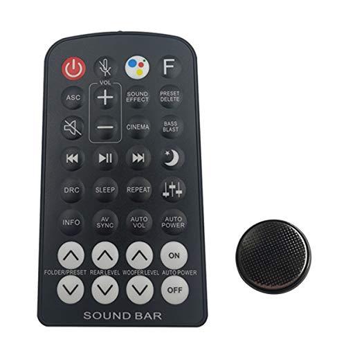 Soundbar AKB74815381 - Mando a distancia con batería para LG SJ7, SJ7-C, SPJ8B-W