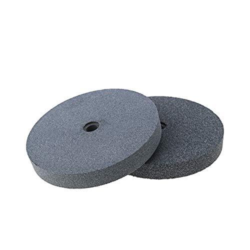 2Pcs Bench Grinder Grinding Wheel, 36 and 60 Grit Aluminum Oxide - 6Inch (1...