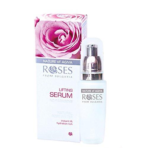 Preisvergleich Produktbild Rosen Lifting Anti-Falten Serum mit Bio festigendes Komplex & Rosenwasser - 30ml