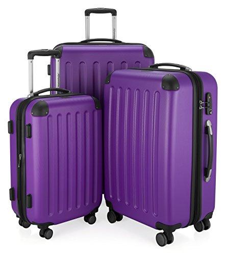 HAUPTSTADTKOFFER - Spree - 3er Koffer-Set Trolley-Set Rollkoffer Reisekoffer Erweiterbar,...