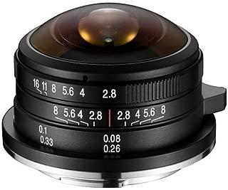 Laowa 4mm f/2.8 MFT Circular Fisheye Lens