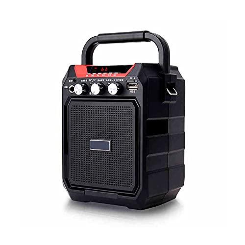 Altavoz Retro Bluetooth, Altavoz Bluetooth, Altavoz Inalámbrico Portátil,Aurtec Bluetooth 4.2, Altavoz Estéreo De Audio para El Hogar con Sonido Potente Y Subwoofer